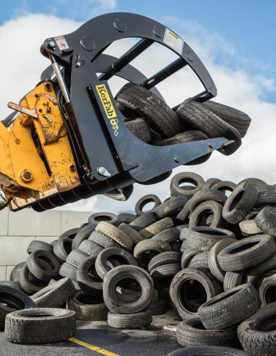 Tyre recycling- Tyrecycle- Paul Redding Industrial photographer Hobart