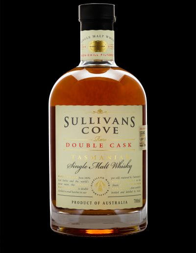 Glassware and Bottle photography for Sullivans Cove Distillery by Paul Redding Photographer Hobart Tasmania