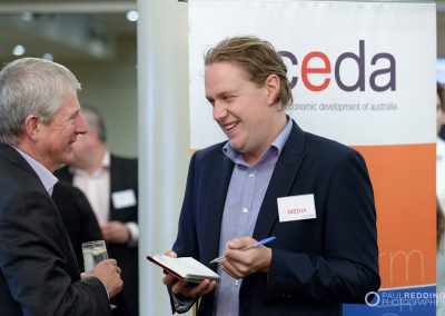 CEDA Tasmania Economic and Political Overview 19-2-2018. Wrest Point Hobart