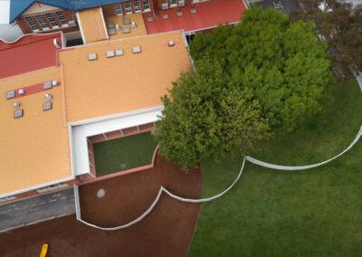 Drone photography School Renovation by Paul Redding Photographer Hobart