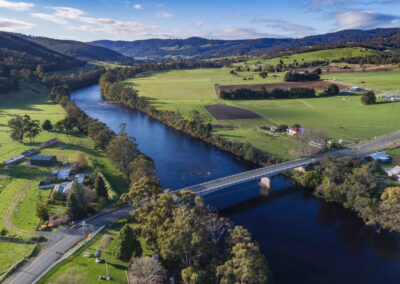 Drone photography Huon Valley