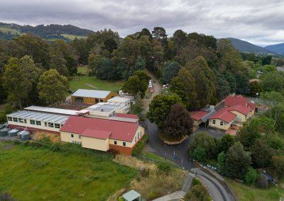 Drone Aerial Primary School