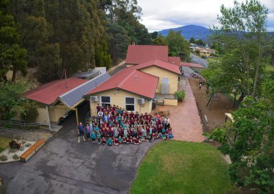 Drone, Aerial, Group photo